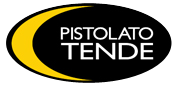 Pistolato Tende, tende da sole, pergole, pompeiane, tettoie. Logo
